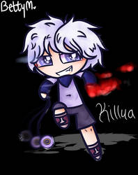 Puffed Killua - Commission
