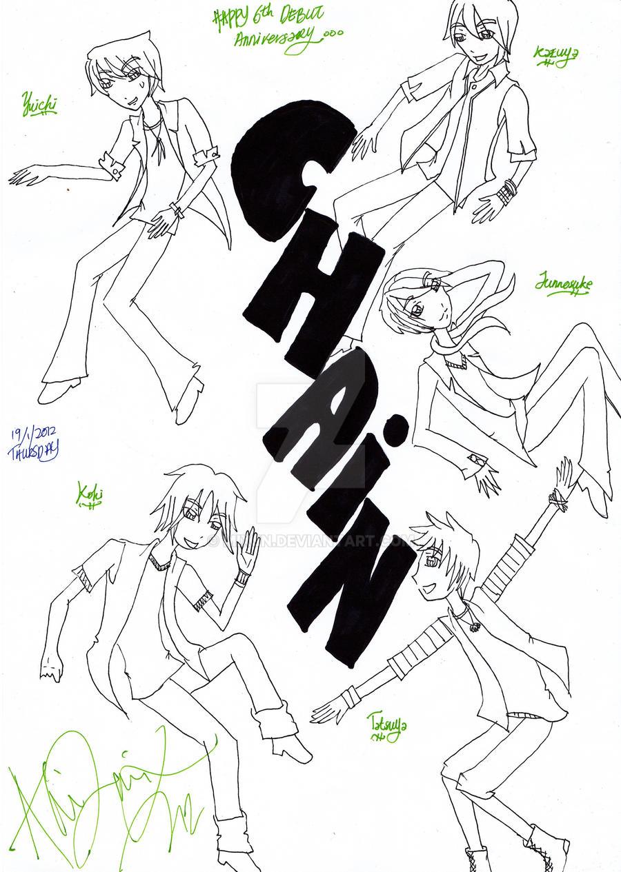 CHAIN KAT-TUN 6th Debut