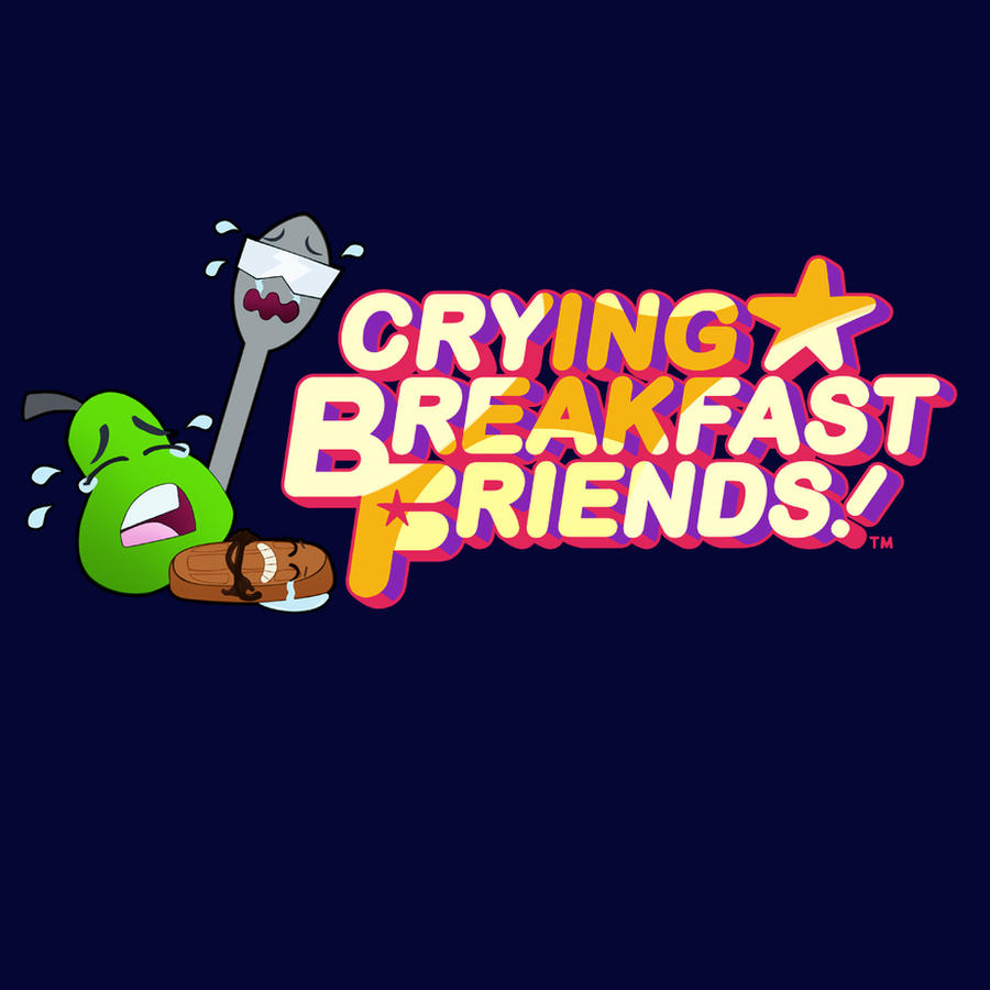 Crying Breakfast Friends by SP00KYELECTRIC