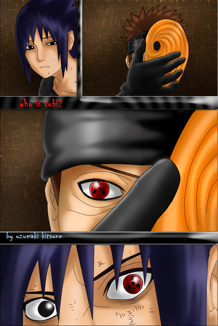 who is tobi? Naruto 396 by uzumakitsune