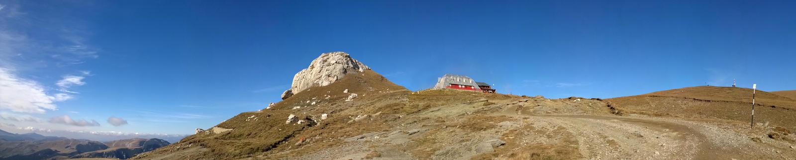 Bucegi Mountains Panorama by Sarahorsomeone