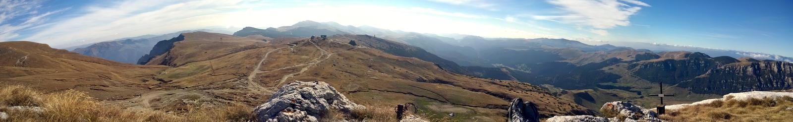 Bucegi Mountains Panorama 2 by Sarahorsomeone