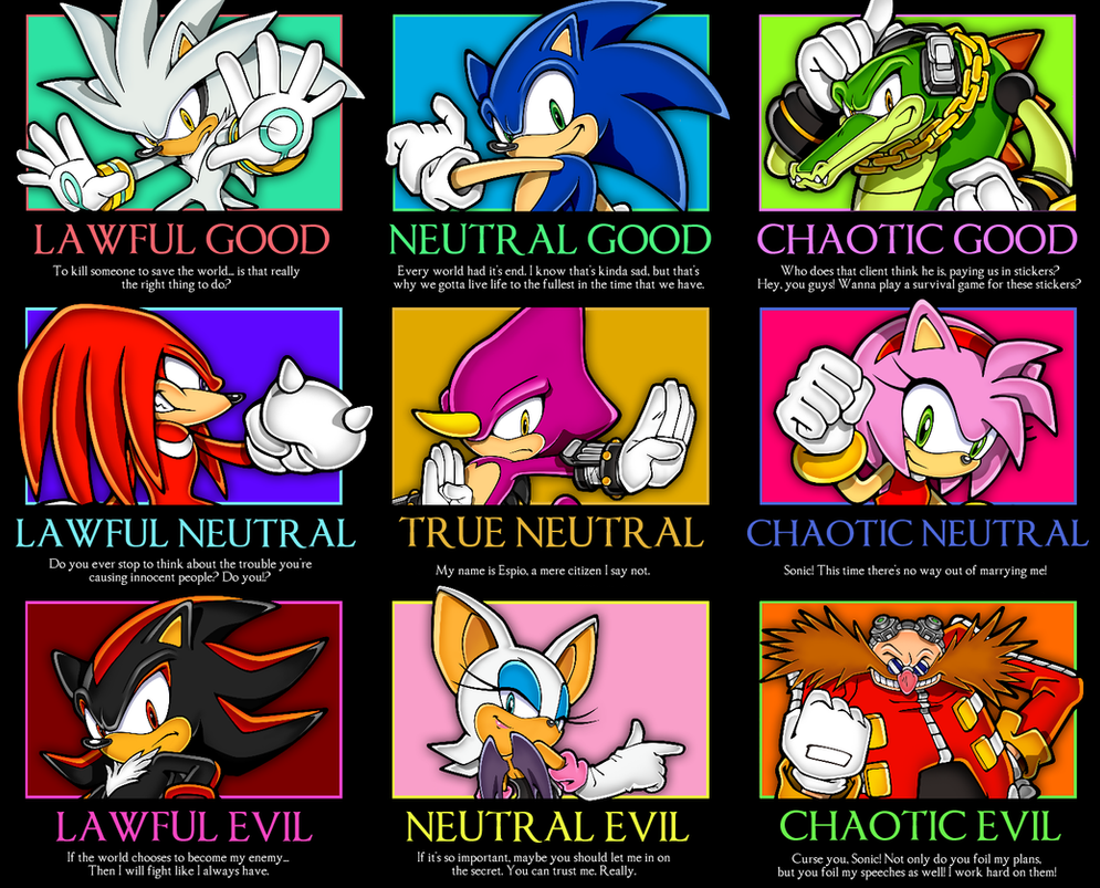 sonic___good_neutral_evil_meme_by_acornarchery d6y3b56 sonic good neutral evil meme by acornarchery on deviantart