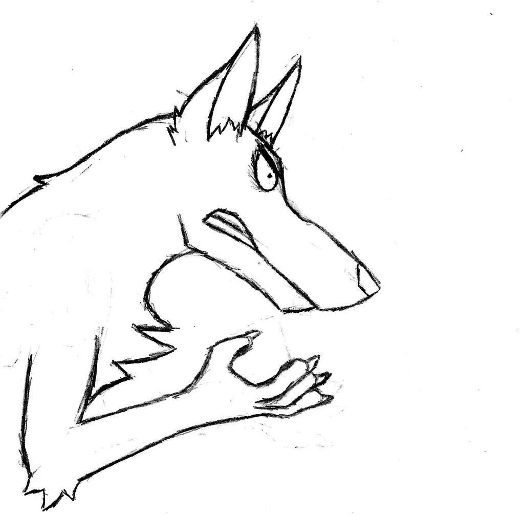 Cartoony Dog by Luke-113