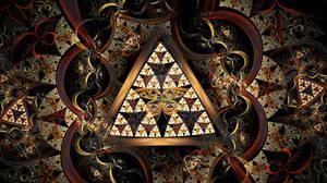 Geometrical Daydreams Of Butterfly