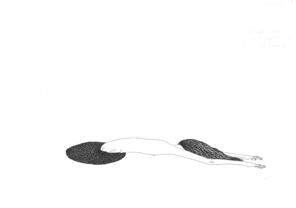 slipping by doodler89