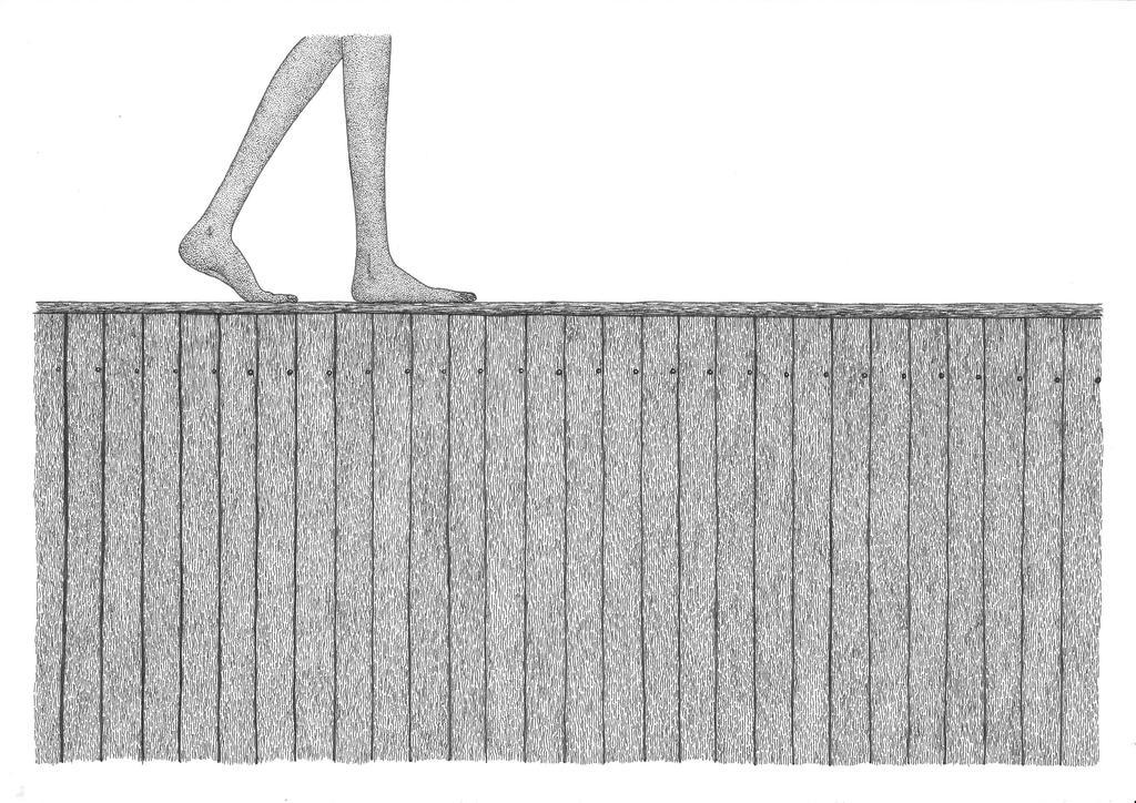 on fences by doodler89