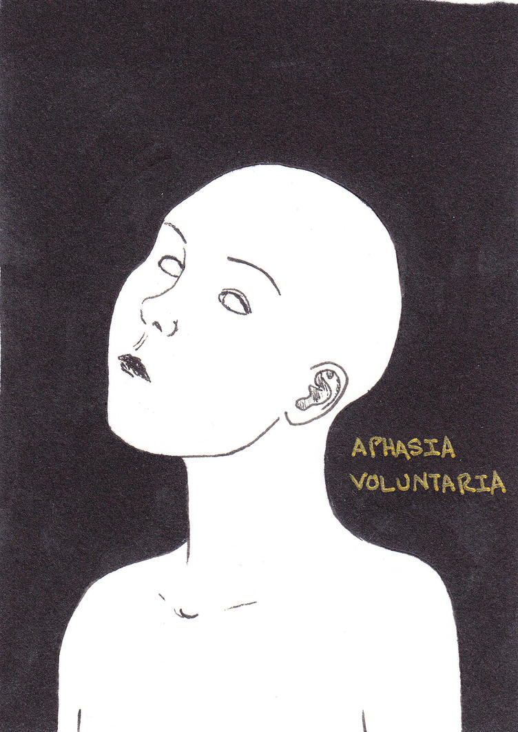 Aphasia Voluntaria by doodler89