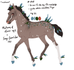 7838 Padro Foal Design by WildOracle