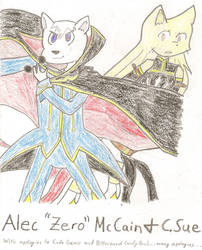 Alec 'Zero' McCain and C. Sue