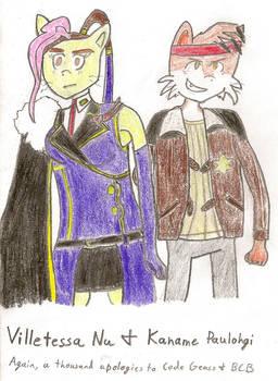 Villetessa Nu and Paulohgi