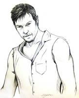 Daryl Dixon by m-a-y-h-e-m