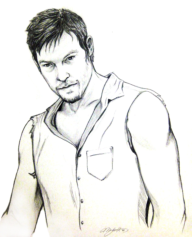 daryl dixon coloring pages - photo#2