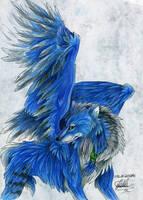 Winged Sigma by SpiritOfTheFire