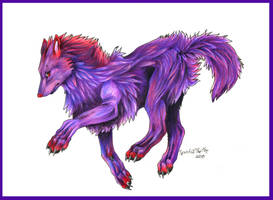 Purple Fire ref by SpiritOfTheFire