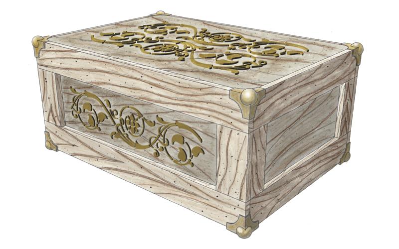 Steampunk Crate