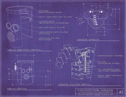 Steampunk Armor Blueprints by rsandberg
