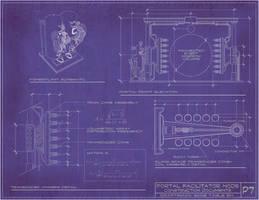 Steampunk Portal Blueprints by rsandberg