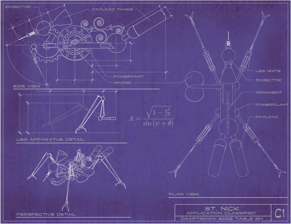 Steampunk hypo blueprint by rsandberg on deviantart steampunk hypo blueprint by rsandberg malvernweather Image collections