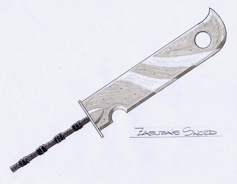 Real Zabuza Sword Zabuza 39 s Guillotine Sword by