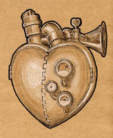 Steampunk Valentine by rsandberg