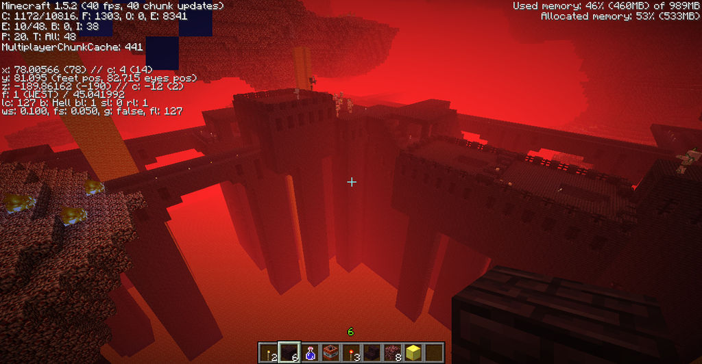 Nether Fortress by MysteriouslyRadical on DeviantArt