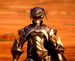 Aqua in Armor by AquaCcPurrfect