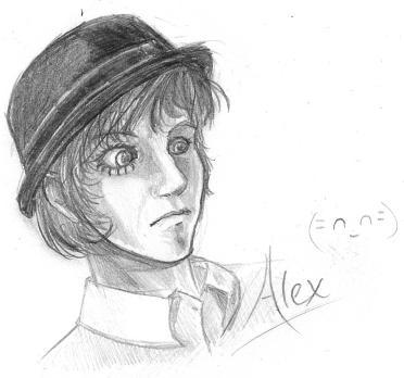 Alex - Clockwork Orange by  A Clockwork Orange Alex Drawing