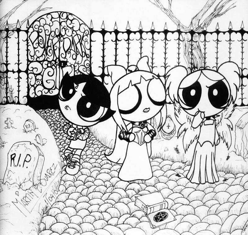 Las Chicas Superpoderosas by Darkmess on DeviantArt