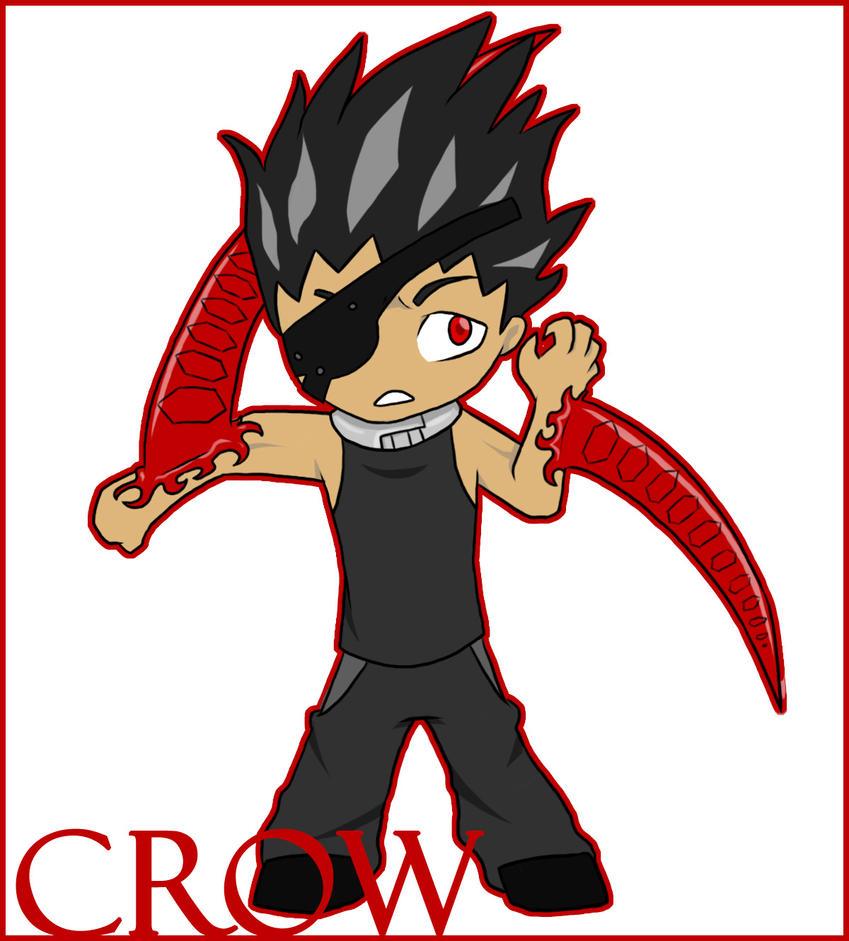 Deadman Wonderland-Crow Chibi By KittyBirdyCake On DeviantArt