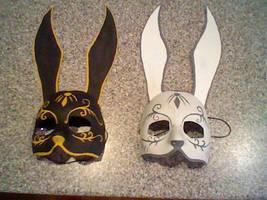 Bioshock-Splicer Masks by KittyBirdyCake