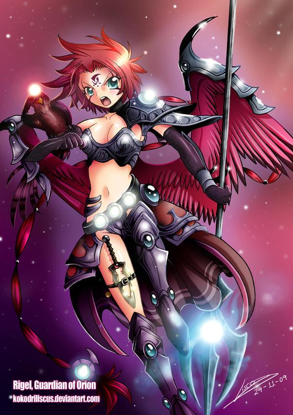 Rigel, Guardian of Orion by Dragolisco