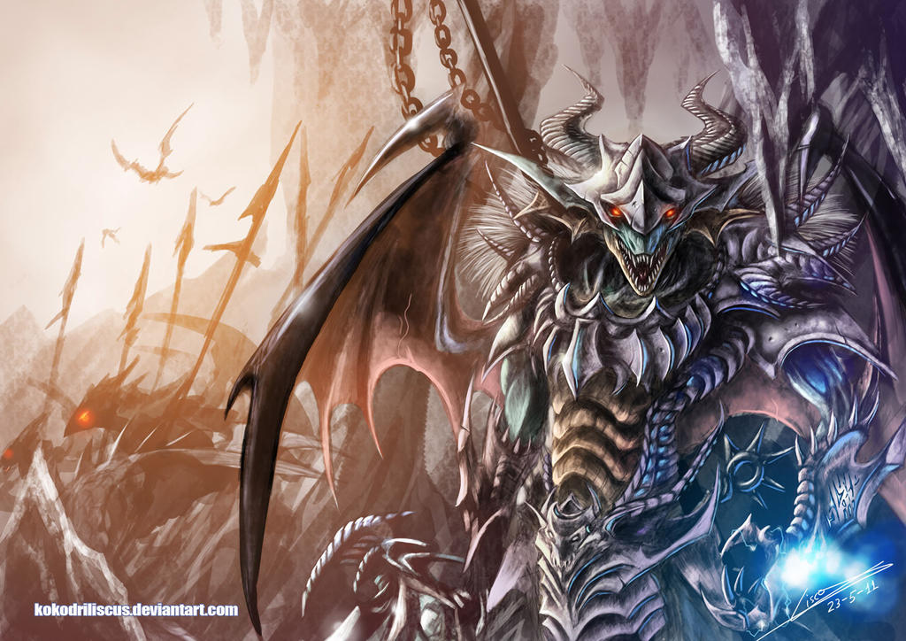 Weredragon Commander by Dragolisco