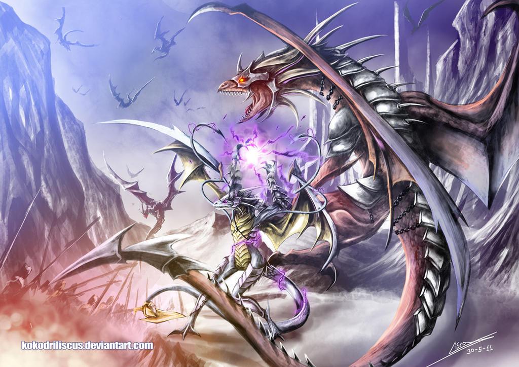 Spellcaster Bodyguard by Dragolisco