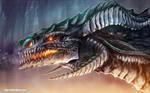Portrait of a Black Dragon 2