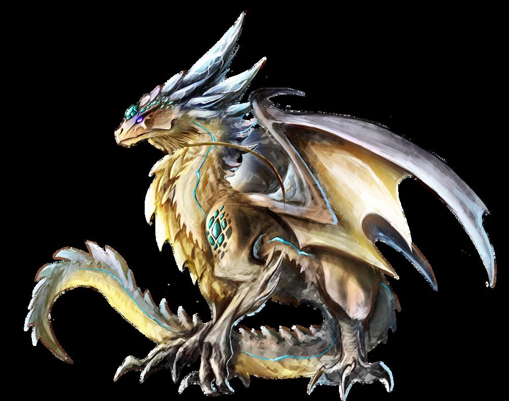 Gem Dragon by Dragolisco