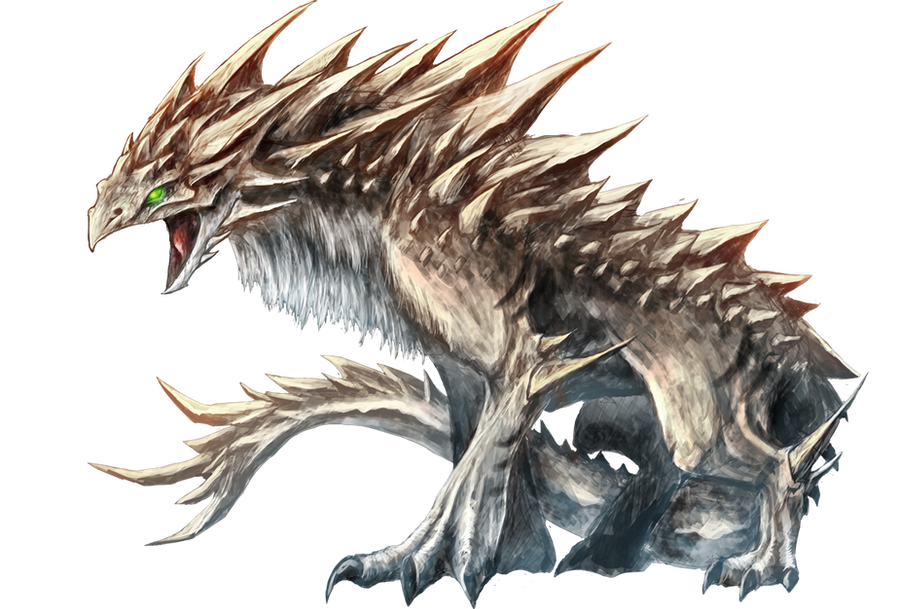 Earth Dragon Fafnir by kokodriliscus