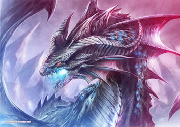 Night Sky Dragon by Dragolisco