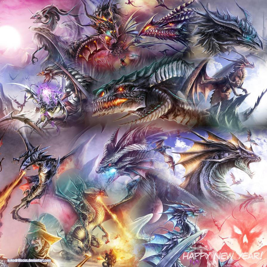 Dragon Summary 2011 by kokodriliscus