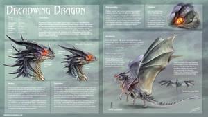 Dreadwing Dragon study