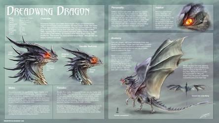 Dreadwing Dragon study by Dragolisco