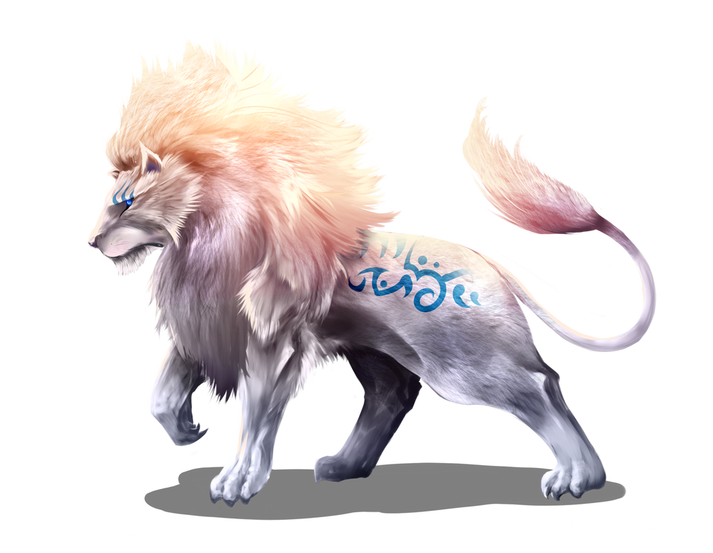 Ancestral Lion by Dragolisco