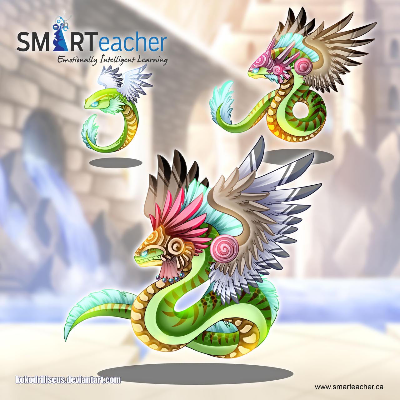 Atl, Coatl And Quetzalcoatl By Dragolisco On DeviantArt