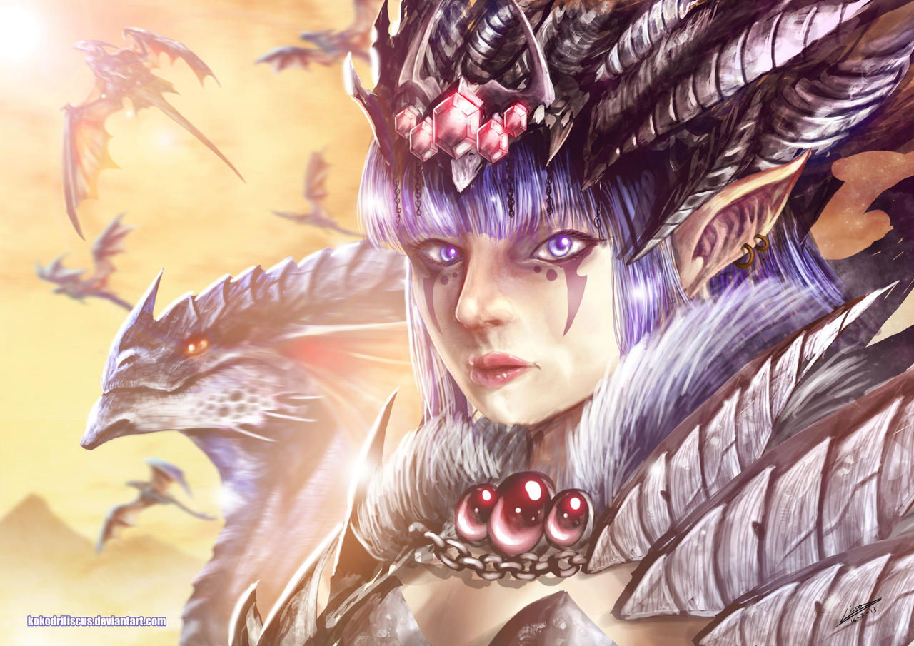 Dragon Empress by Dragolisco