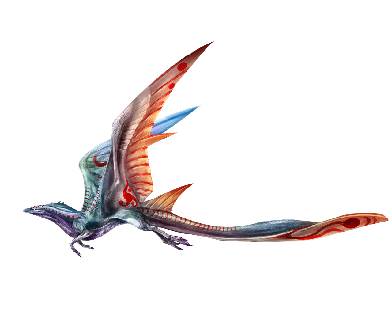 Leviathan dragon by kokodriliscus