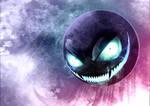 Creepy Gastly by Dragolisco