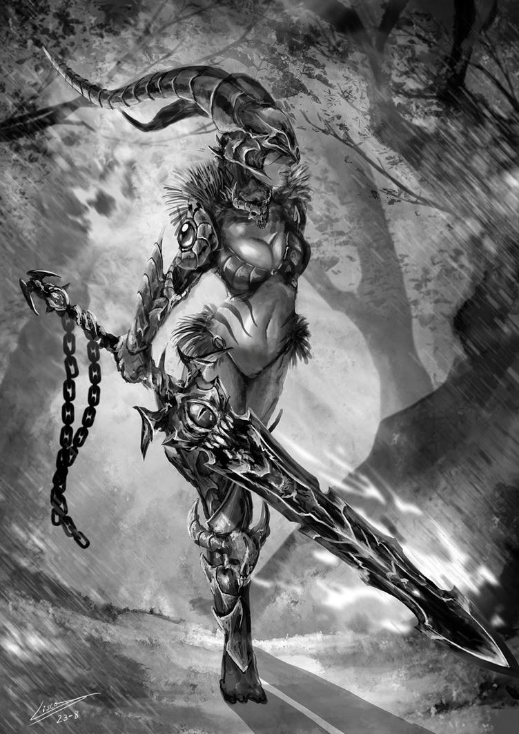 Lady of Doom by Dragolisco