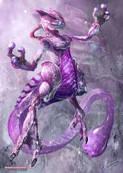 Mystic Mewtwo by Dragolisco