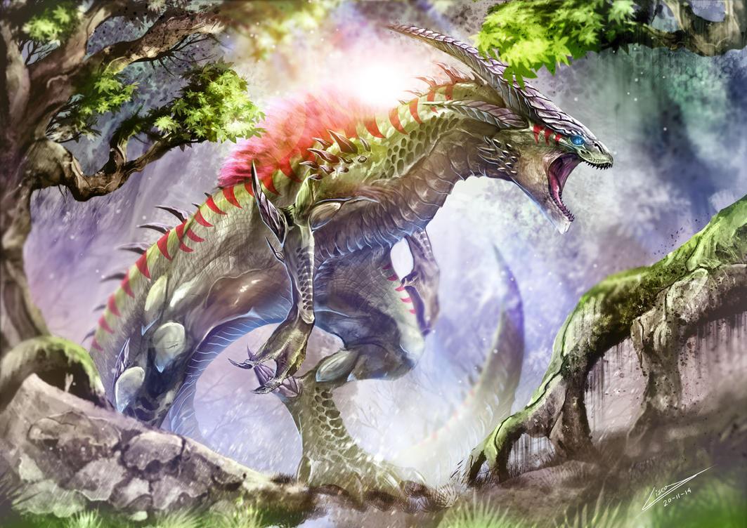 Carnivorous Dragon by Dragolisco