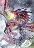 Sarkhan Dragon by Dragolisco